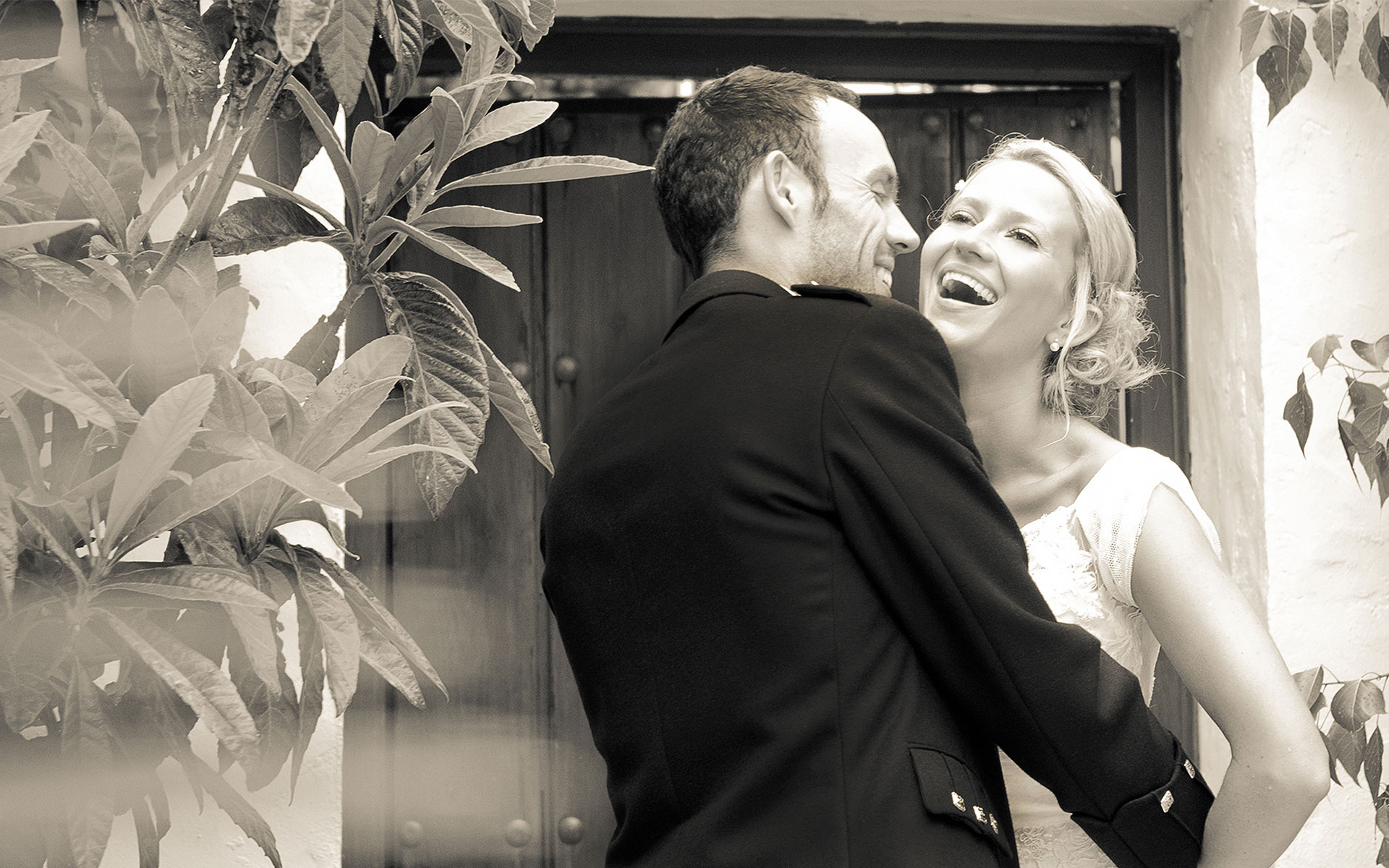 first-laugh-wedding-couple